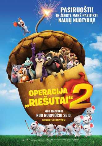Operacija Riešutai 2 (Nut Job 2: The Nutty by Nature)