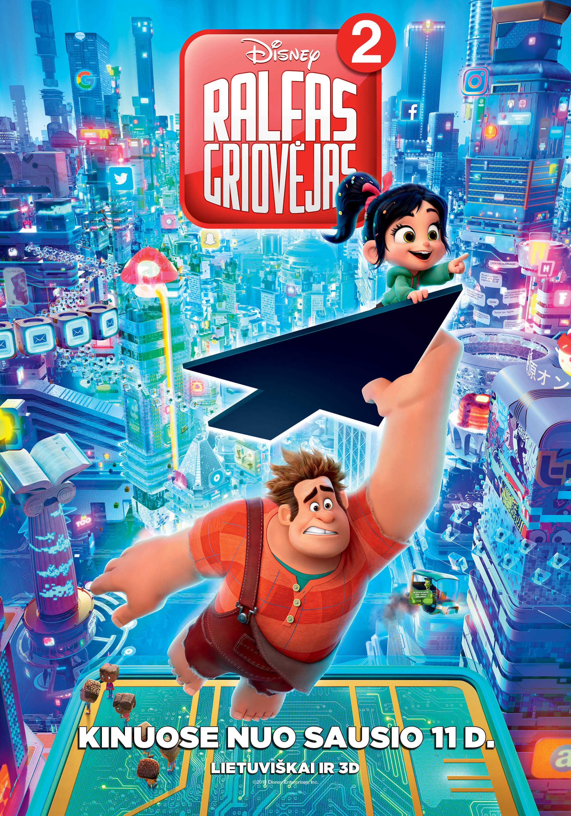 Ralfas Griovėjas 2 (Ralph Breaks the Internet: Wreck-It Ralph 2)
