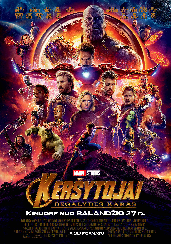 Keršytojai. Begalybės karas (Avengers: Infinity War )