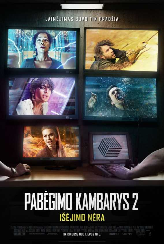 PABĖGIMO KAMBARYS 2: IŠĖJIMO NĖRA (Escape Room 2)