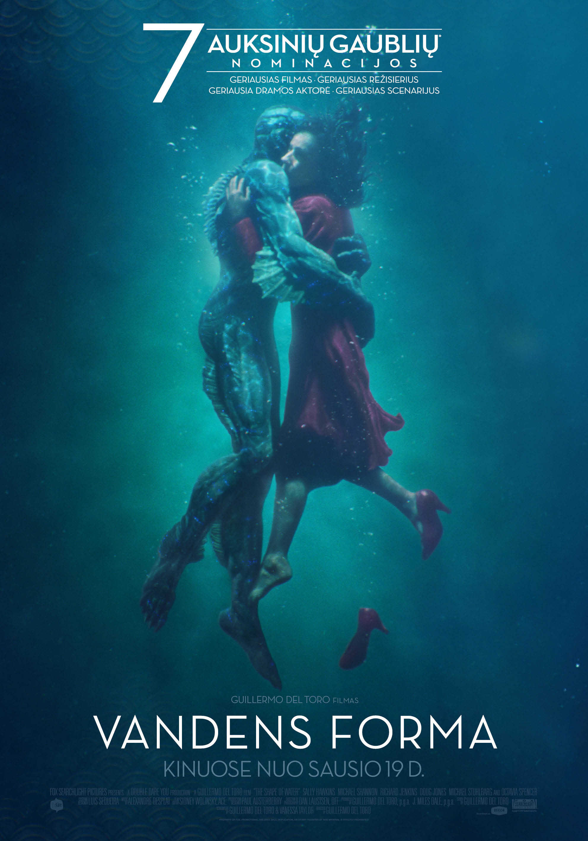 Vandens forma (The Shape of Water)