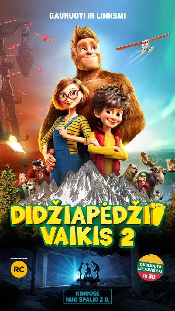 DIDŽIAPĖDŽIO VAIKIS 2 (Bigfoot Family)