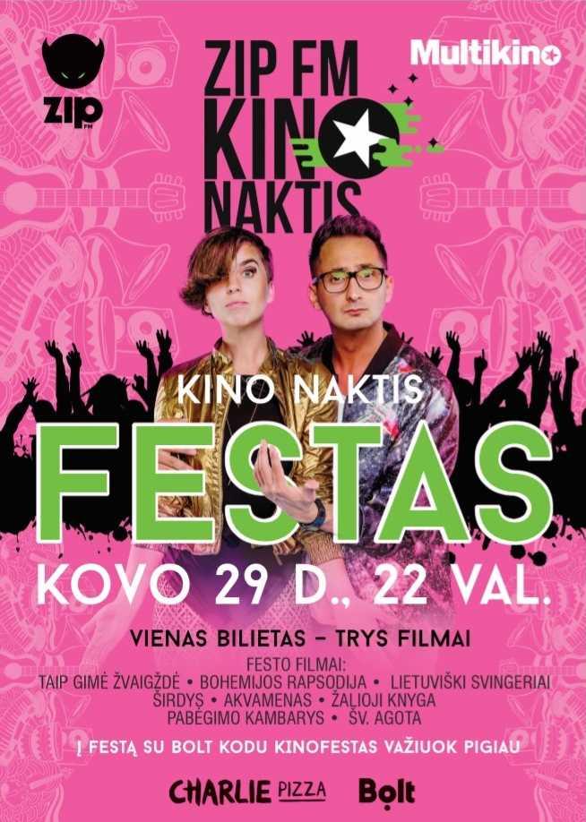 ZIP FM KINO NAKTIS vol.9