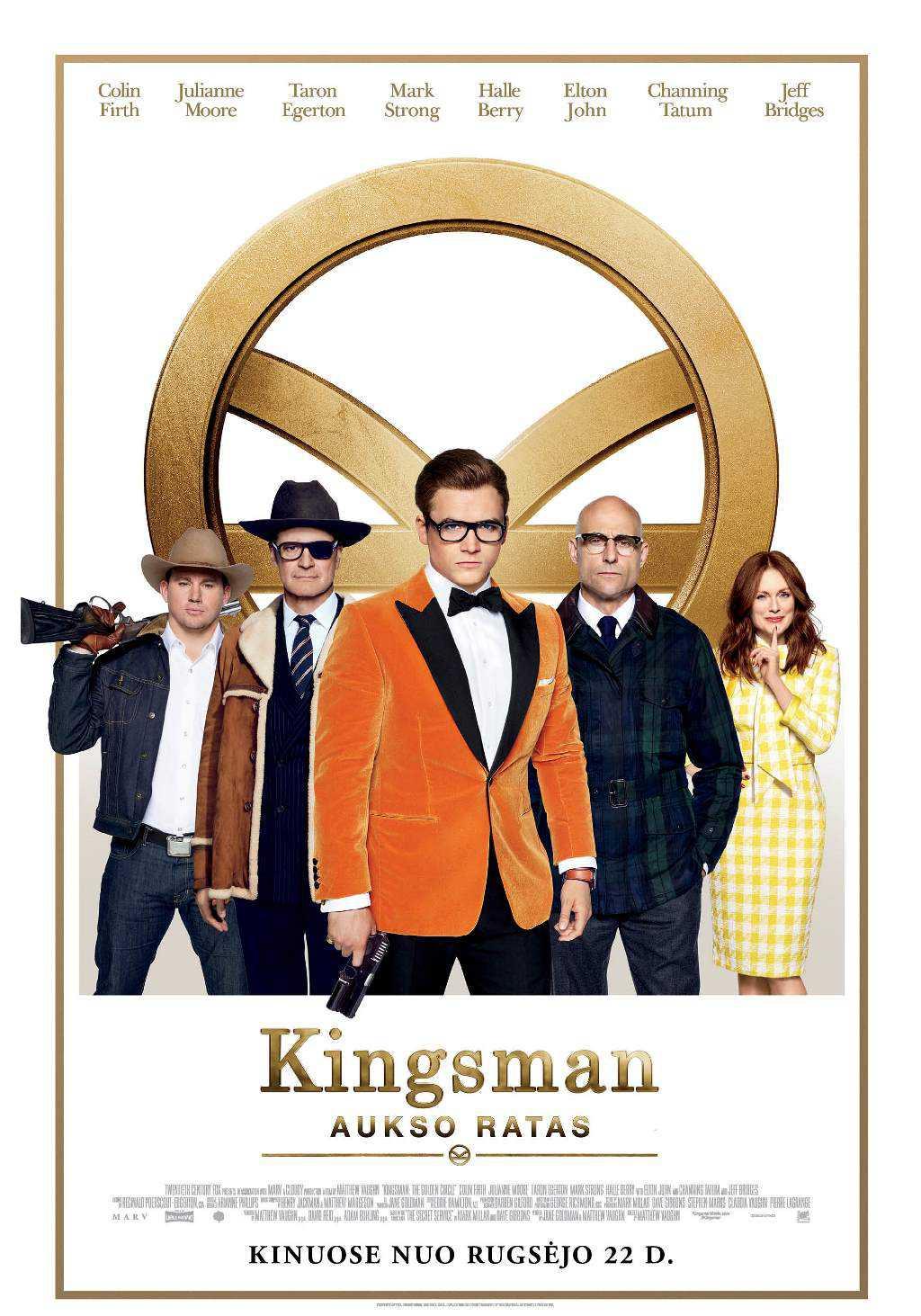 Kingsman. Aukso ratas (Kingsman. The Golden Circle)