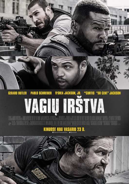 Vagių irštva (Den Of Thieves)