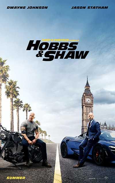 GREITI IR ĮSIUTĘ: HOBSAS IR ŠO (Fast & Furious Presents: Hobbs & Shaw)