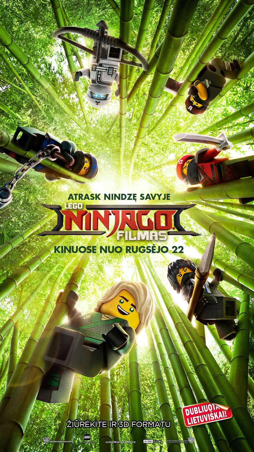 Lego Ninjago filmas (The LEGO Ninjago Movie)