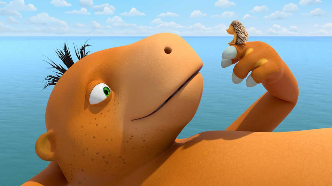 MultiKinukas: Drakoniuko Riešutėlio nuotykiai: atostogos džiunglėse (Coconut the Little Dragon: Into the Jungle!)