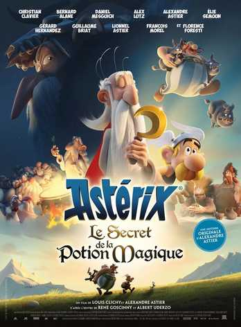ASTERIKSAS: Stebuklingojo gėrimo paslaptis (Asterix: The Secret of the Magic Potion)