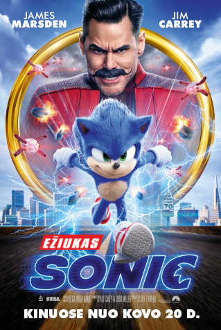 EŽIUKAS SONIC (Sonic the Hedgehog)
