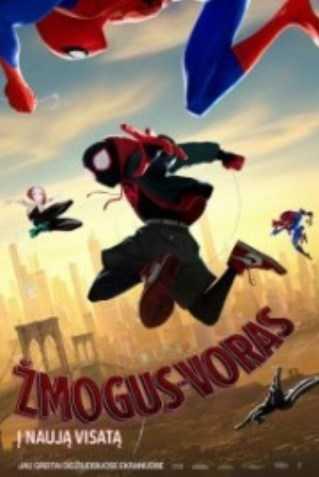 Žmogus-voras: į naują visatą (Spider-Man: Into the Spider-Verse )