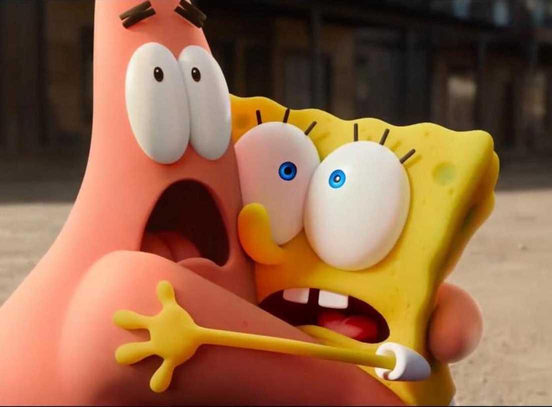KEMPINIUKO FILMAS: BĖGANTI KEMPINĖ (The SpongeBob Movie: Sponge on the Run)