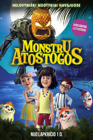 Monstrų atostogos (Legend of Hallowaiian)