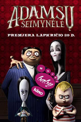 MultiBabyKino: ADAMSŲ ŠEIMYNĖLĖ (The Addams Family)
