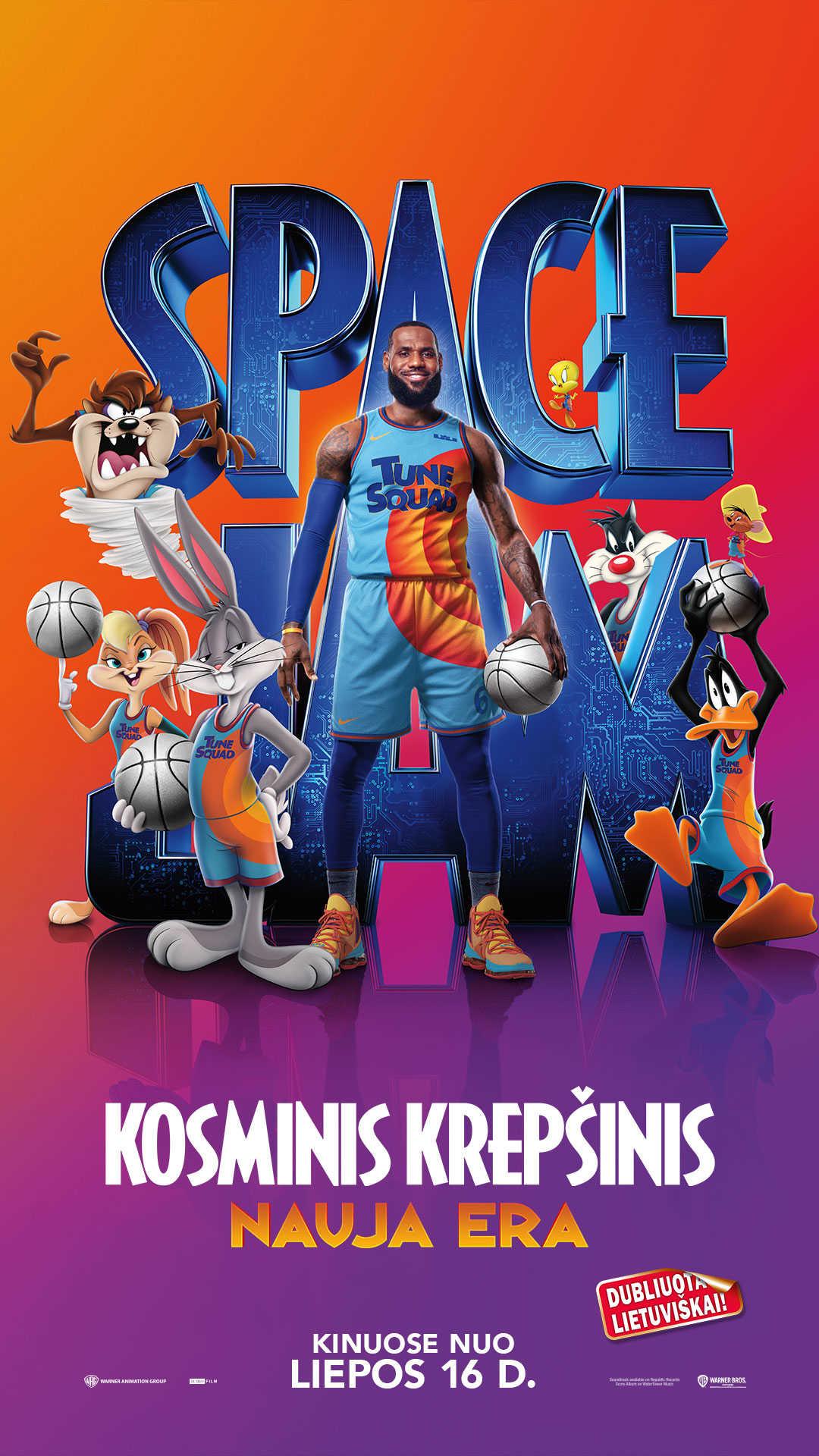 Kosminis krepšinis: nauja era (Space Jam: A New Legacy)