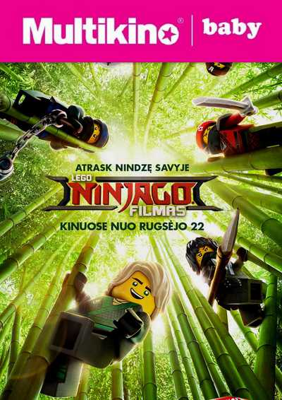 MultiBabyKino: Lego Ninjago filmas (The LEGO Ninjago Movie)
