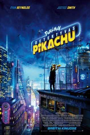 Pokemon Detektyvas Pikachu (Pokemon Detective Pikachu)