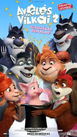 AVELĖS IR VILKAI 2 (Sheep and Wolves: Pig Deal)