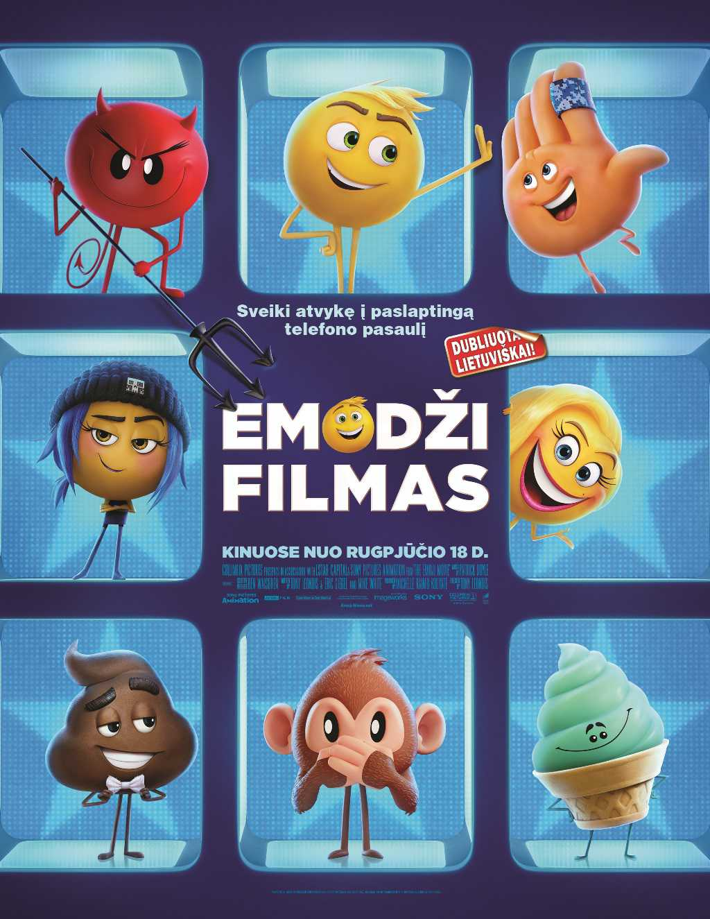Emodži filmas (The Emoji Movie)