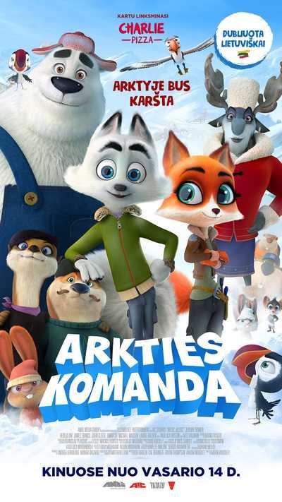 MultiBabyKino: ARKTIES KOMANDA (Arctic Dogs)
