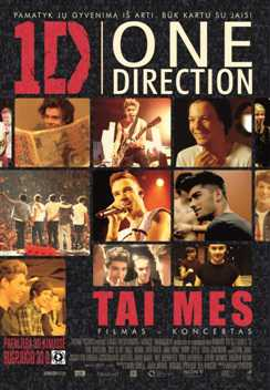 One Direction: tai mes 3D