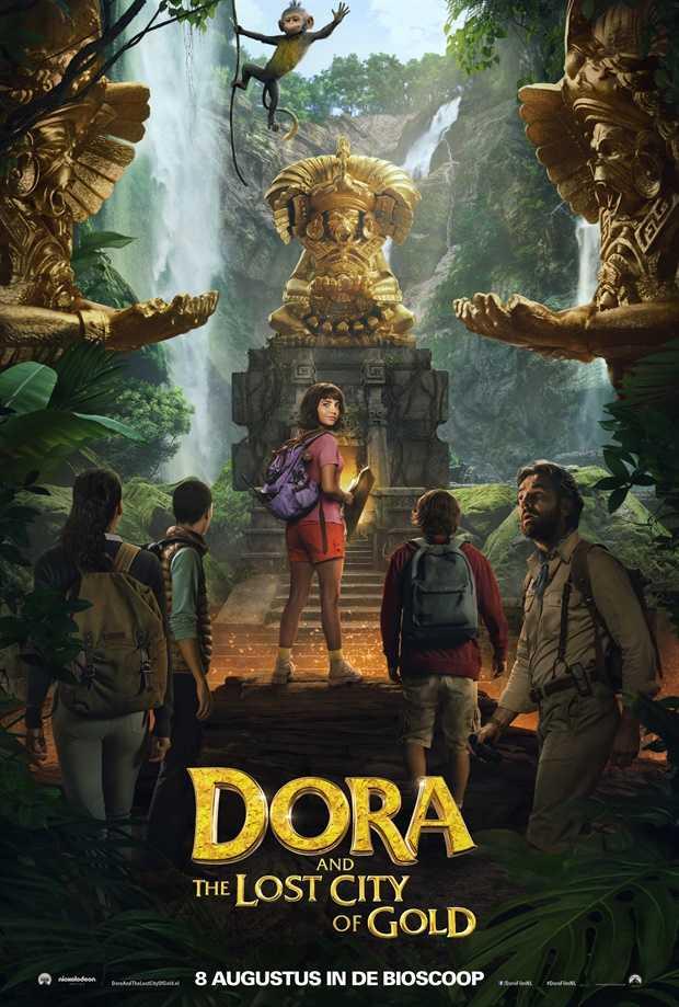 DORA IR AUKSO MIESTAS (Dora and the Lost City of Gold )