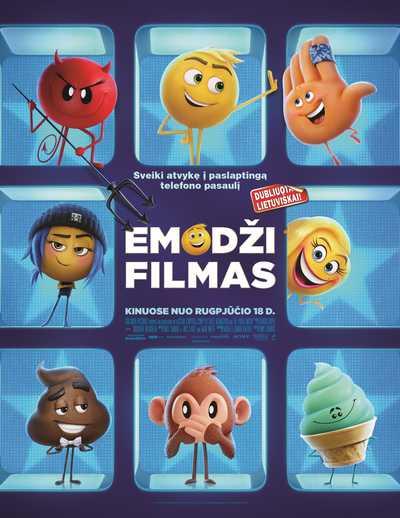 Emodži filmas (The Emoji Movie)