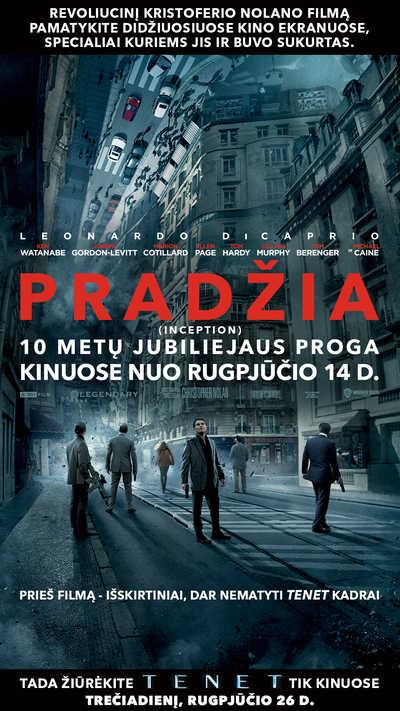 PRADŽIA (JUBILIEJINIS LEIDIMAS) (Inception (10 Years Anniversary))