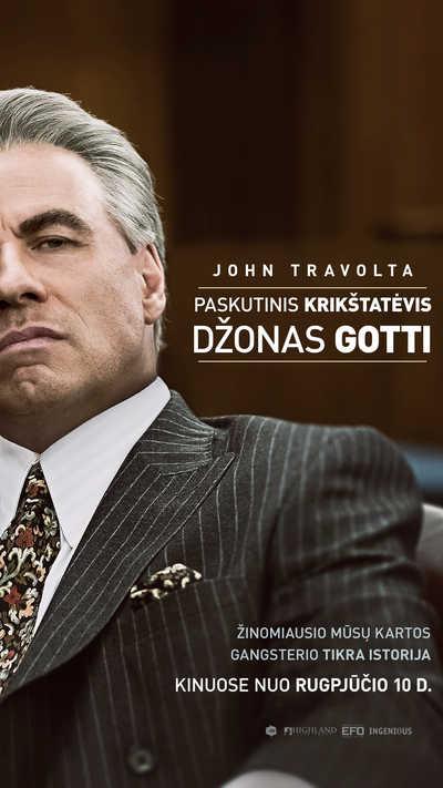 Paskutinis krikštatėvis: Džonas Gotti (Gotti)