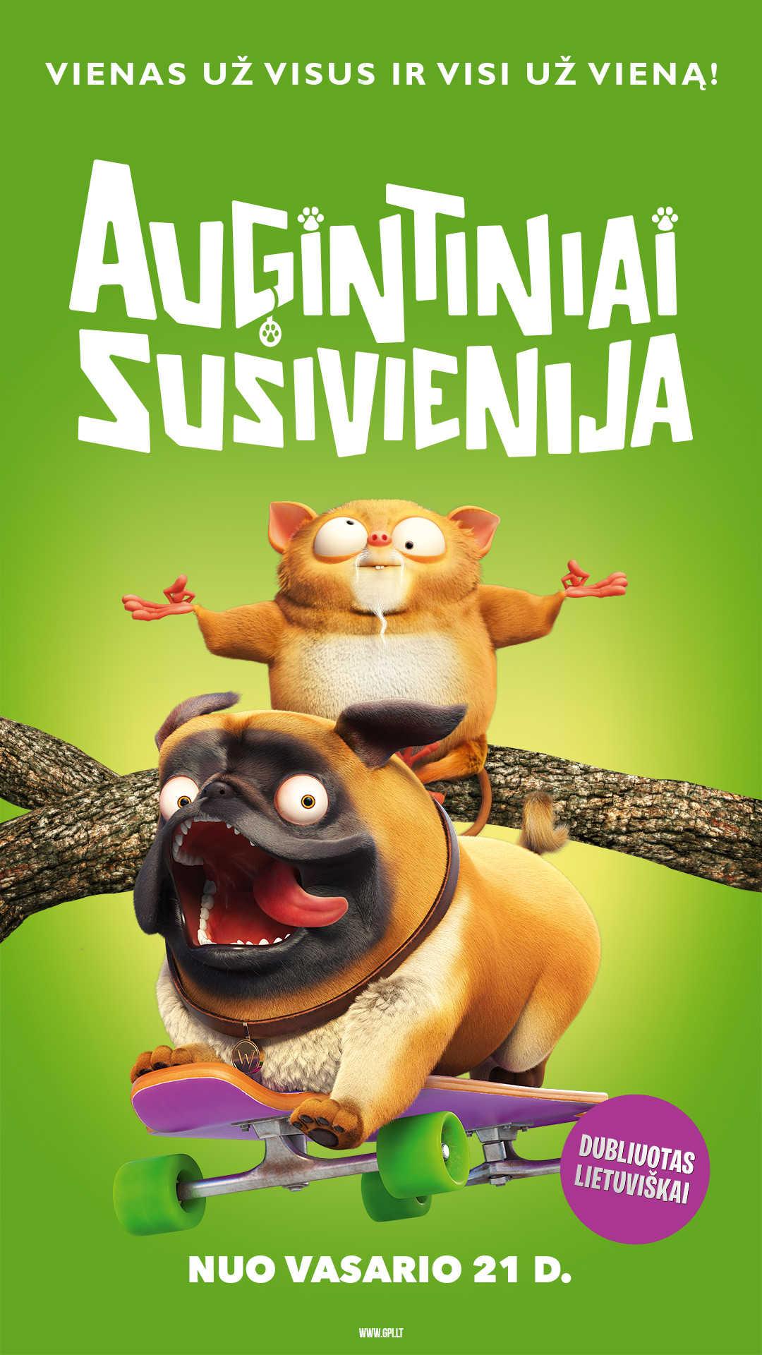 AUGINTINIAI SUSIVIENIJA (Pets United)
