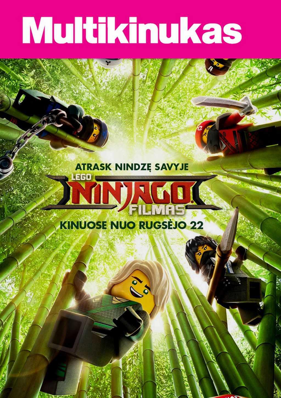 Multikinukas: Lego Ninjago filmas (The LEGO Ninjago Movie)