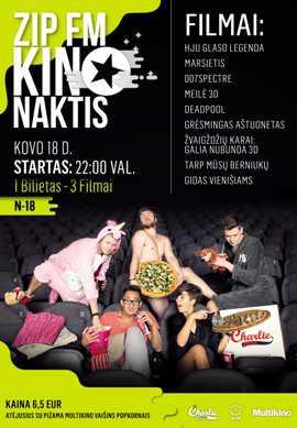 ZIP FM Kino naktis #3