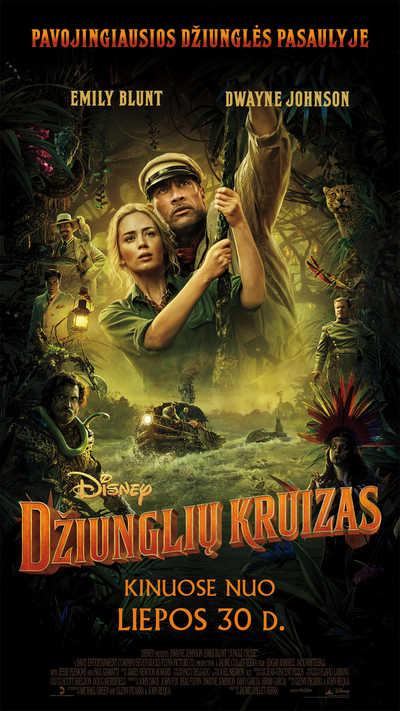 DŽIUNGLIŲ KRUIZAS (Jungle Cruise)