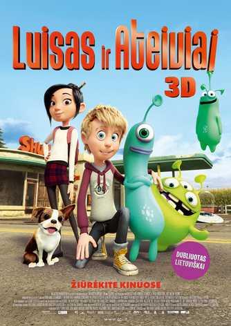 Luisas ir ateiviai (Luis & the Aliens)