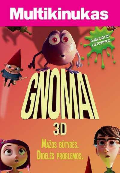 Multikinukas : Gnomai (Gnome Alone)