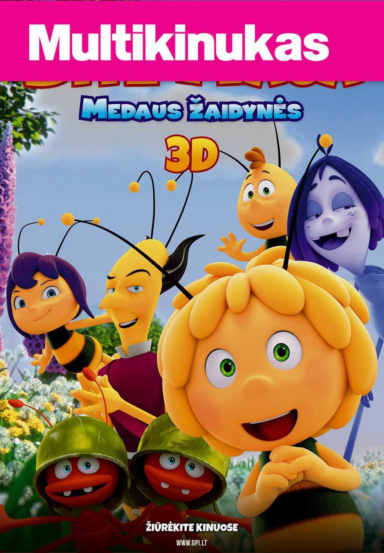 Multikinukas: Bitė Maja: Medaus žaidynės (Maya the Bee: The Honey Games)