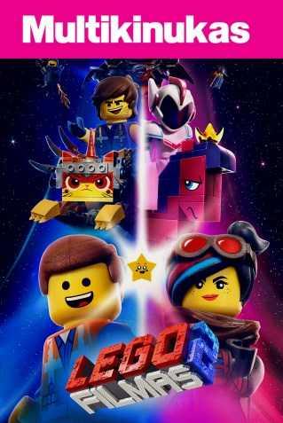 Multikinukas: LEGO FILMAS. ANTRA DALIS (Lego Movie 2)