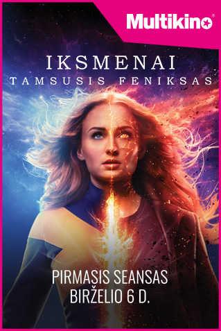 Iksmenai. Tamsusis Feniksas (X-Men: Dark Phoenix)