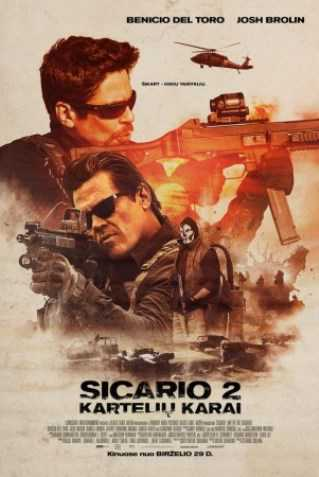 Sicario 2: Kartelių Karai (Sicario: Day Of The Soldado)