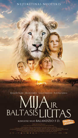 MIJA IR BALTASIS LIŪTAS (Mia and the White Lion)