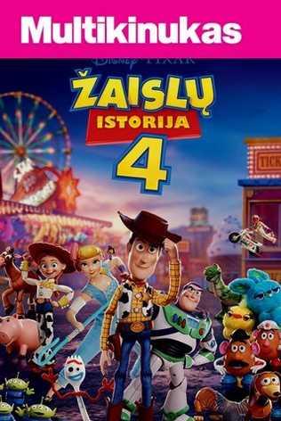 Multikinukas: ŽAISLŲ ISTORIJA 4 (Toy Story 4)