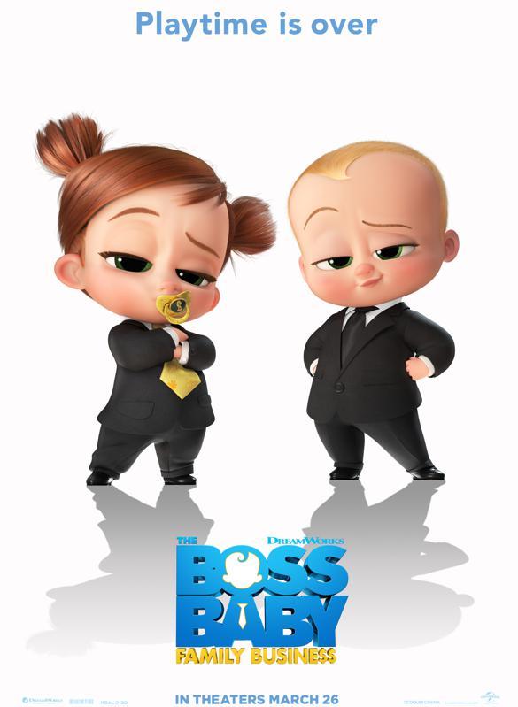 PONAS KŪDIKIS 2. ŠEIMOS REIKALAI (The Boss Baby 2)