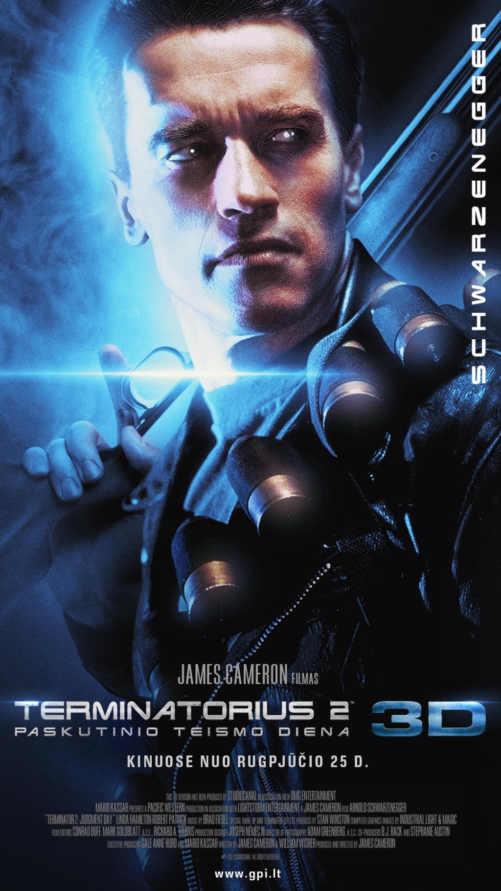 Terminatorius 2. Paskutinio teismo diena 3D (Terminator 2: Judgement Day)