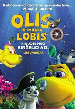 Olis ir piratų lobis / Dive Olly Dive and the Pirate Treasure filmas online nemokamai