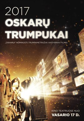 Oskarų trumpukai 2017