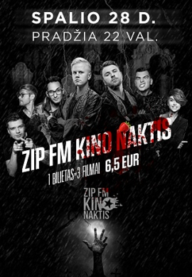ZIP FM Kino naktis #4