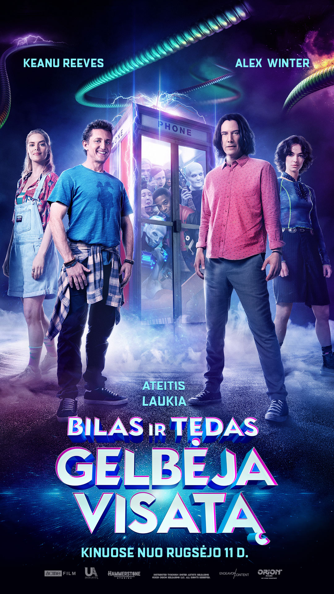 BILAS IR TEDAS GELBĖJA VISATĄ (Bill and Ted Face the Music)