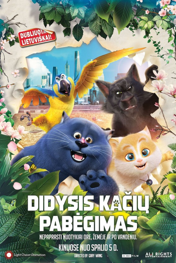 DIDYSIS KAČIŲ PABĖGIMAS (CATS)