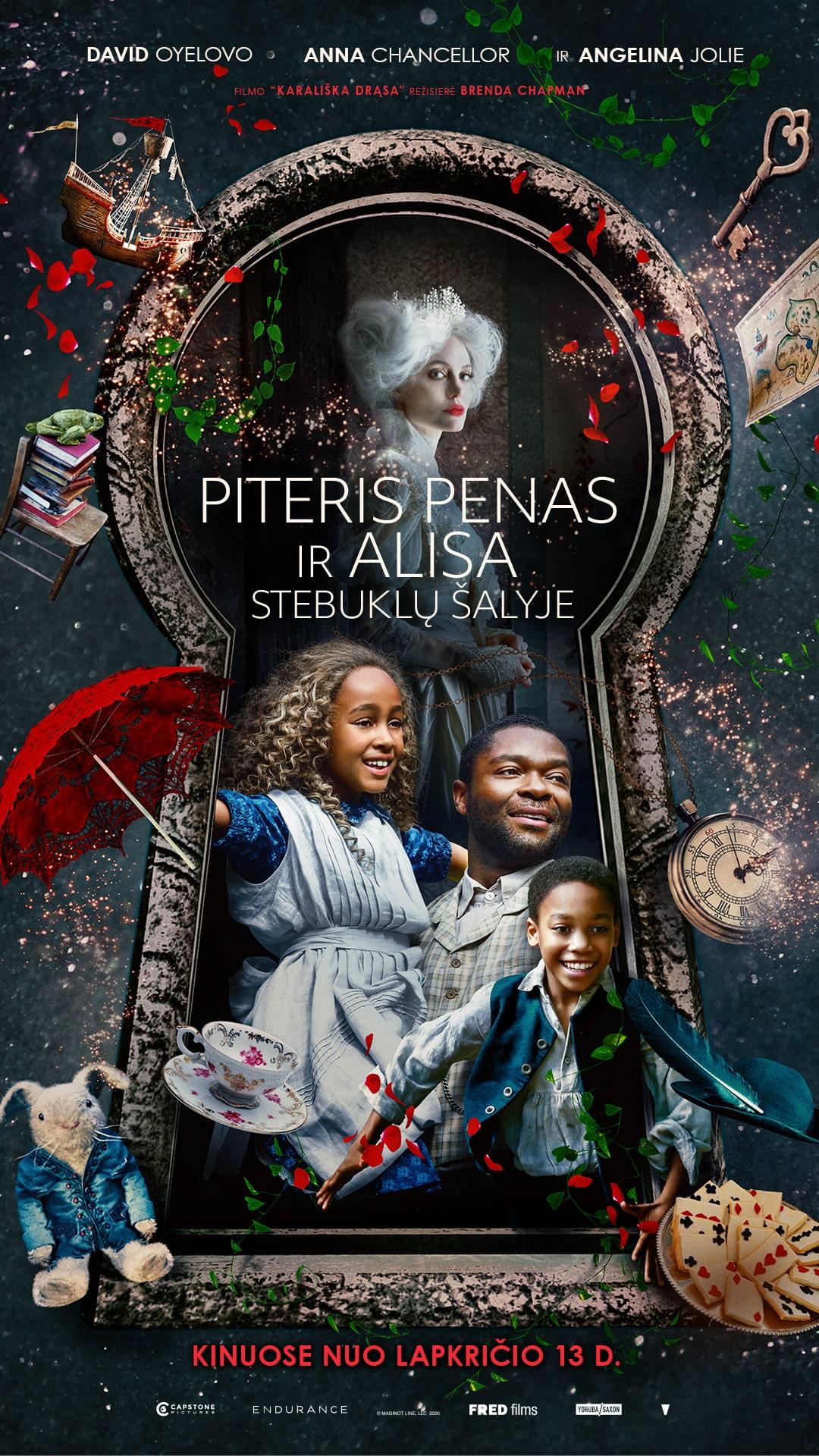 PITERIS PENAS IR ALISA STEBUKLŲ ŠALYJE (Come Away)