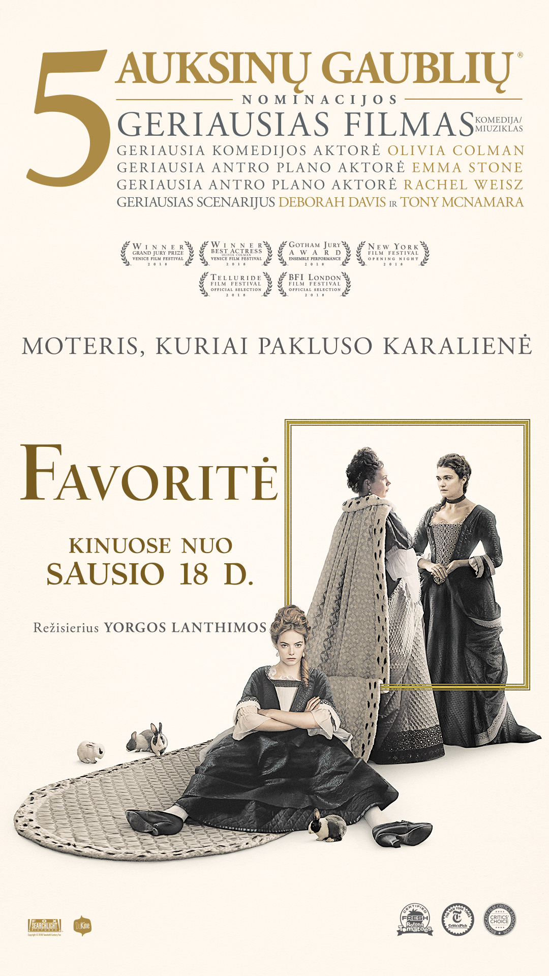 Favoritė (The Favourite)